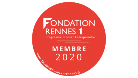 Sticker membre Fondation Rennes 1 2020